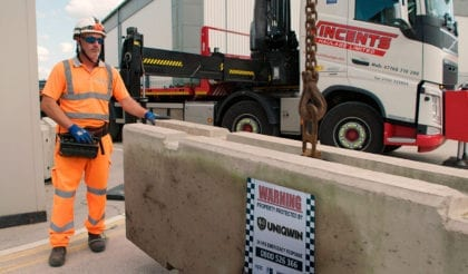 Concrete barriers supply, installation and relocation for Aviation, <em>Airport</em> & Transport Security bOfficers