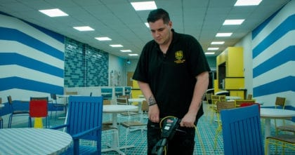 Professional commercial cleaning services for Flintshire / Clywd